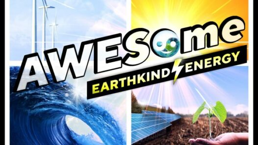 AWESome Earthkind Energy - Air, Water, Earth, Sun