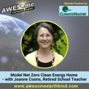 Model Clean Energy Home – Joanne Coons, retired school teacher